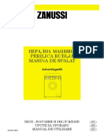 Manual Masina de Spalat