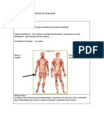 Bitacora de Analisis de Riesgos y Ergonomia