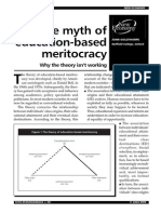 The Myth of Education Based Meritocracy