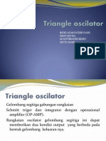 Triangle Oscilator (Gelombang Segitiga)