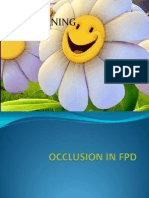 Occlusion in Fpd 13-08-10