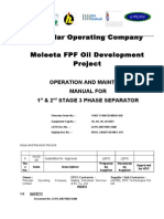 PDOC 3phase Separator Operation Manual