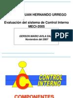 Control Interno.componentes