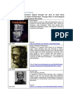 Frankenstein Research Activity