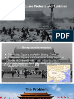 tiananmen square presentation