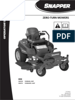 Cub Cadet RZT Series Zero Turn Service Repair Manual[1] | Switch | Screw