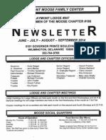 Newsletter June-July-Aug-Sept