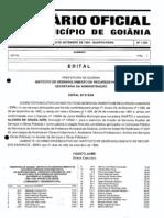 Concurso Prefeitura Goiania 1994