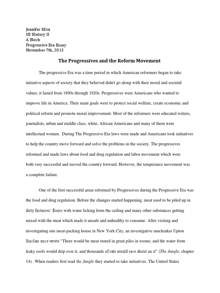 Locavore Synthesis Essay  Thesis Statement Argumentative Essay also Proposal Essay Sample The Progressive Era Essay Jennifer  Prohibition  Progressive Era Controversial Essay Topics For Research Paper