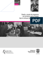 DiseñoYajusteDeProgramasDeFormacion