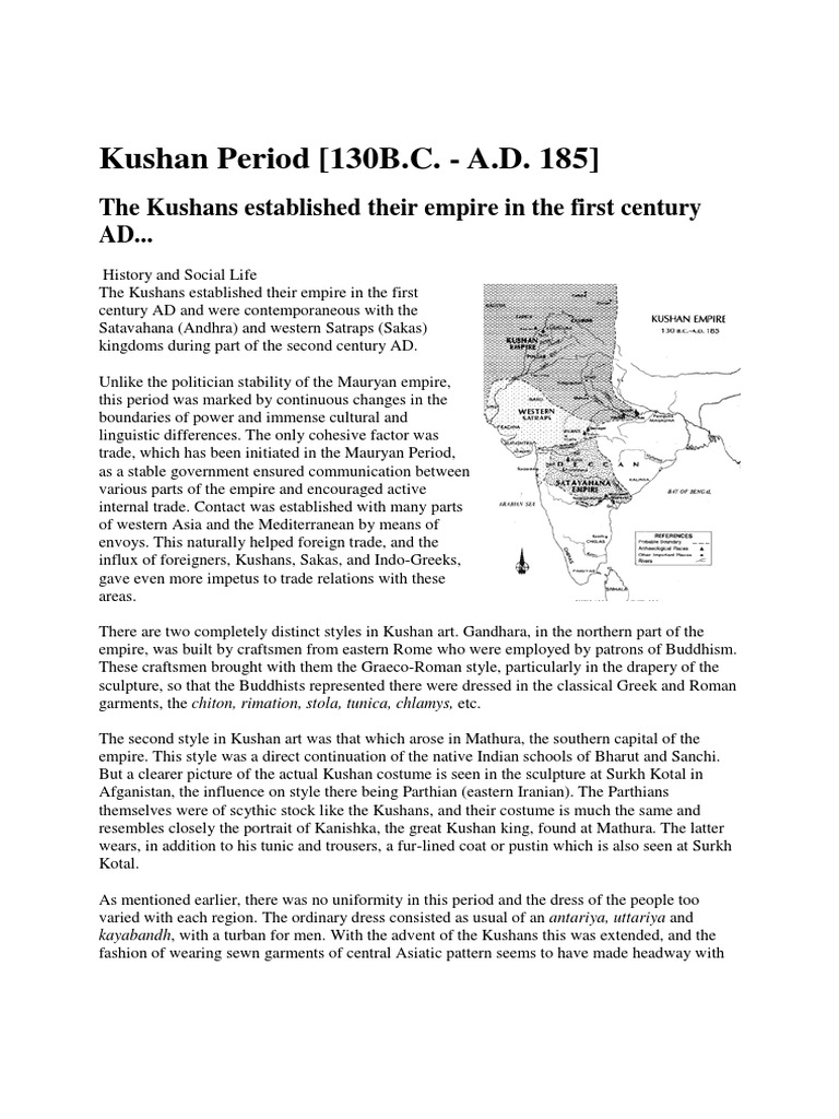 kushan empire history