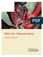 Water is Life – Omeya ogo omwenyo. CuveWaters mid-term report