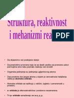 01-Struktura, Reaktivnost i Mehanizam Reakcije