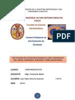 Instituciones Del Estado Relacionados Al Agro