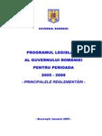 Program Legisl 2005 2008
