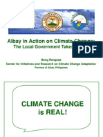 Albay in Action on Climate Change