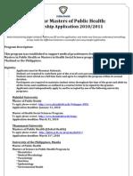 MMPH Application