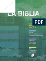 Catalogo Sociedades Biblicas España