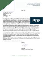 Charity Navigator Letter 2014