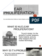 nuclear proliferation project