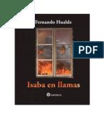 Libro Isaba en Llamas