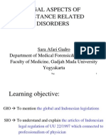 29. Legal Aspects of Substance Related Disorders_dr. Sara Afari