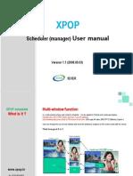 XPOPscheduler-User Manual(5Nov2008)