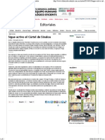 10-06-14 El Diario de Coahuila - PPT a La Comisión de Presupuesto