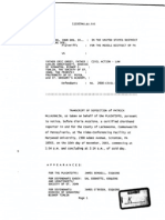 Portions of the Deposition of Patrick McLaughlin