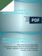 Programa de La Ee. Introducción a La Antropología Social.