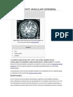 Accidente Vascular Cerebral
