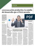Diversificación Productiva La Semilla Del Desarrollo Que Perú Necesita_Gestión 10-06-2014