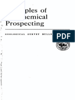 Geochemical Prospecting