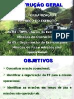 IG UD VI - AS 04 - AS 05 - MISSOES OP E DE PAZ