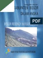 DU01-Dalam Angka Kab Bogor 2008