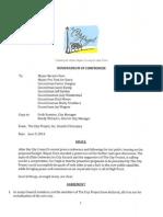City Project Memorandum of Compromise-Final