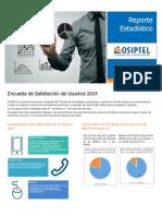 OSIPTEL - Reporte Estadístico (Junio, 2014)