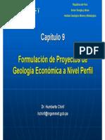 Formulación de Proyectos de GEOLOGIA ECONOMIA