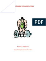 Conditioning for Powerlifting - Frederick c. Hatfield, Ph.d.
