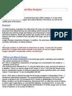 blood gas