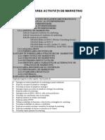 Capitolul 2 - Planificarea Activitatii de Marketing
