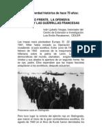 EL SEGUNDO FRENTE,  LA OFENSIVA SOVIÉTICA Y LAS GUERRILLAS FRANCESAS