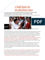 Hypocrisy Laid Bare in Indonesian Election Race