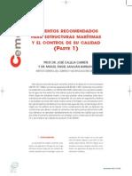 2003_11_C_H_Cementos Recomendados Para Estructuras Marítimas (Parte I)