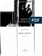 Justicia y Literatura -Jacques Verges