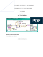 INFORME LABVIEW 2011