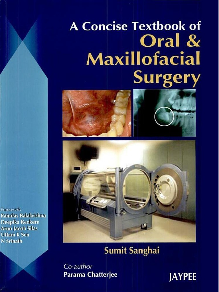 A Concise Textbook Of Oral And Maxillofacial Surgery  Biopsy  Dental  Degree