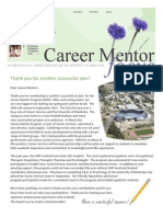2014 Spring - Career Mentor Focus