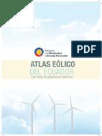 Atlas Eólico Ecuador Meer 2013