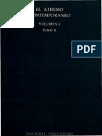Ediciones Cristiandad - Ateismo Contemporaneo Ia - El Ateismo en La Vida Y en La Cultura Contemporanea - Tomo 2